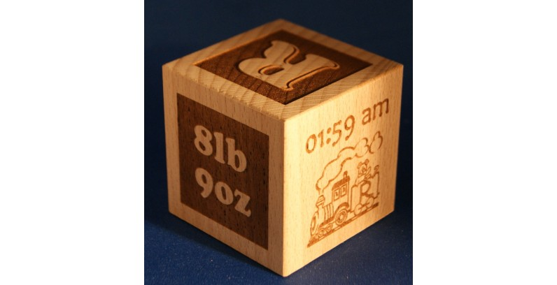 Baby Blocks - Personalised in any design