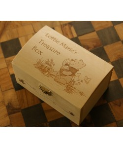 Child's Treasure Chest engraved  in any design you like