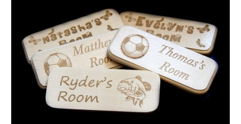 Small Wooden Plaques
