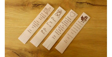 Bookmarks with inspirational Quotes and Sayings