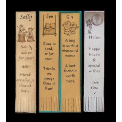Leather Bookmarks - Inspirational Quotes