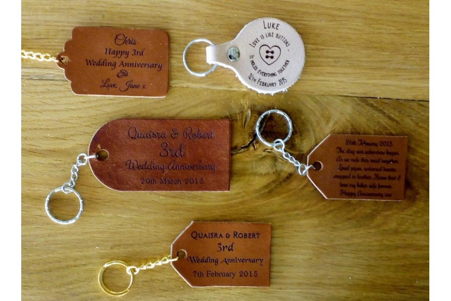 Leather Tags & Key Rings
