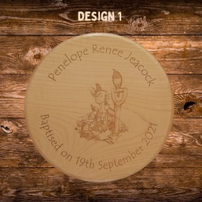 Peter Rabbit Gift - Personalised engraved wooden stool