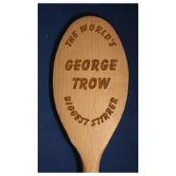 Wooden spoon  - World's Biggest Stirrer or other Novelty event