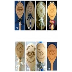 Engraved Wedding Spoon