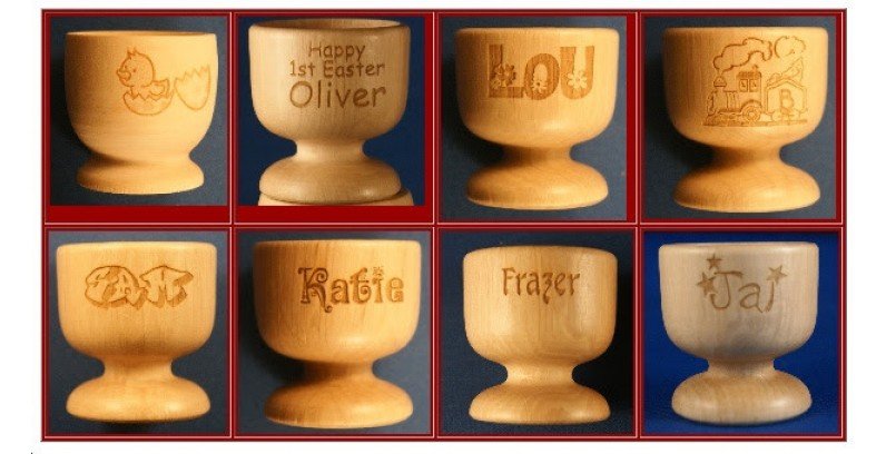 Personalised Eggcups