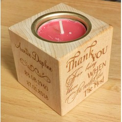 Tealight Holder - In Loving Memory