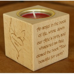 Personalised Tealight Holder - In Loving Memory