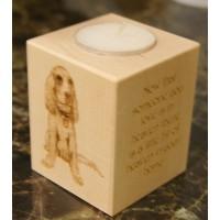 Personalised Tealight Holder - In Loving Memory