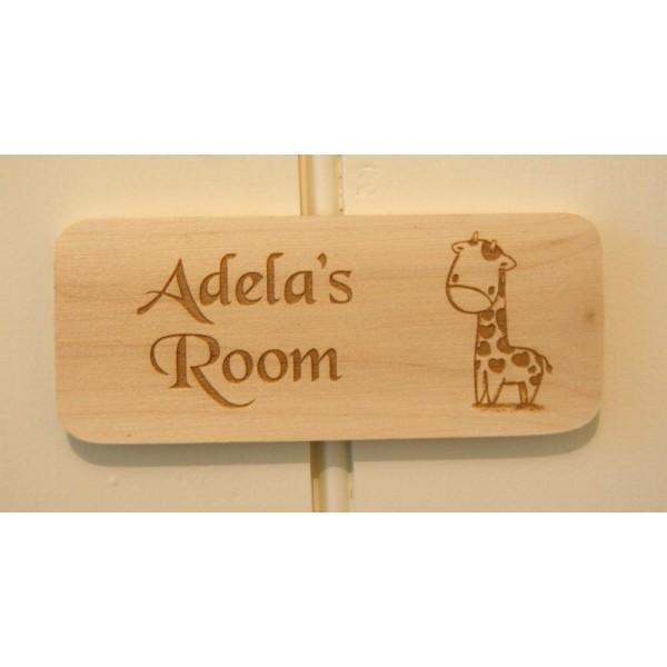 Personalised Wooden Door Plaques