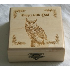 Wooden Trinket Box - Personalised