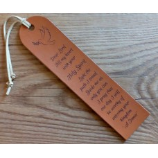 Personalised Leather Bookmarks - Your own ideas