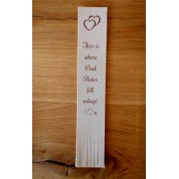 Leather Bookmark - Bespoke