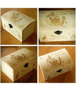 Peter Rabbit Treasure Chest - Keepsake box