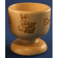 Easter Wooden Egg Cups - Personalised in our Set Designs