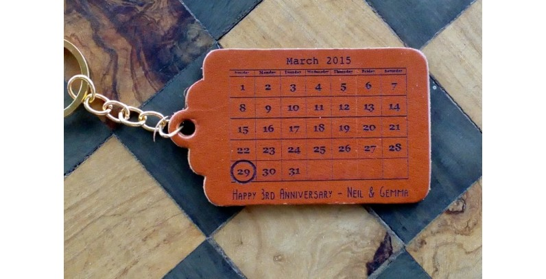Leather Tags and Keyrings