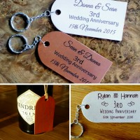 Leather Tags or Keyrings