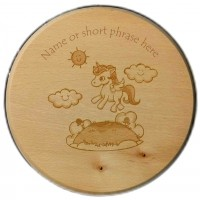 Unicorn Children's Wooden stool