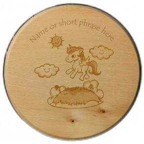 Unicorn Children's Wooden stool