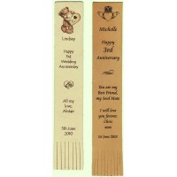 Leather Bookmarks - Engraved
