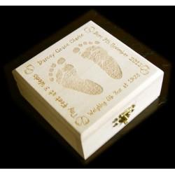Wooden Trinket Box - Personalised