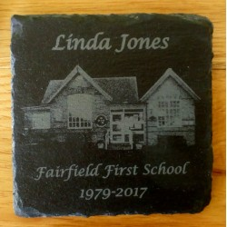 Slate Coasters - engraved in your own ideas