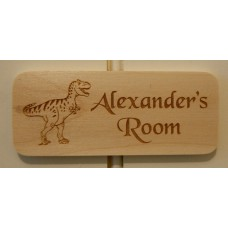 Kid's Wooden Door Name Plates - Personalised in your own ideas