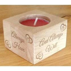 Tealight holder - Wooden