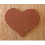 Engraved Leather Hearts