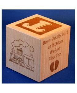 Baby blocks - Train design