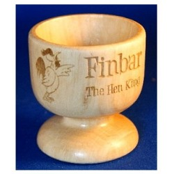 Personalised Wooden Egg cups