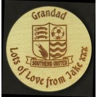 Coasters - Round Wooden