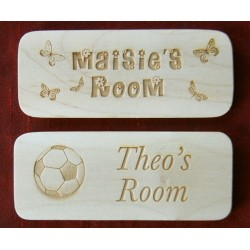 Personalised Wooden Door Plaques