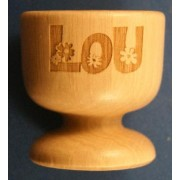 Wooden Egg Cups