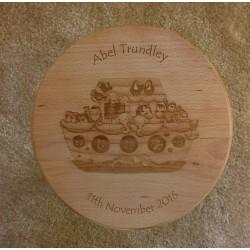Wooden Stool - Noah's Ark
