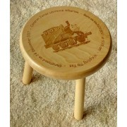 Personalised Child's Wooden Stool