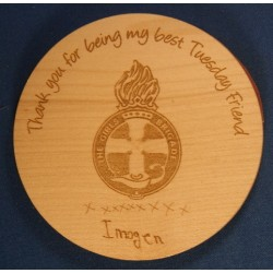 Wooden Coaster - Teacher Gift